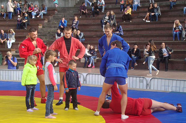 More than 50 kids of variouse ages participated in our recent event